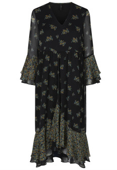 Y.A.S Multi Yashania Midi Dress - xs