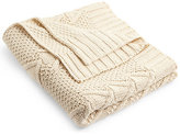 Marks and Spencer Chunky Cable Knit Throw