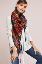 Anthropologie Garden Afternoons Square Scarf