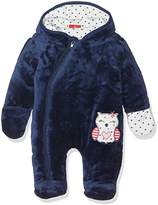 Salt&Pepper SALT AND PEPPER Baby Girls' NB Jumpsuit Happy Plüsch Footies