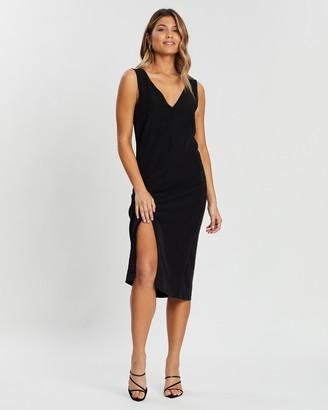 Atmos & Here Antoinette Split Front Dress