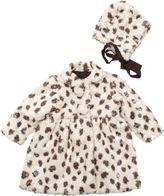 Isabel Garreton Leopard Print Coat And Bonnet
