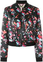 Versace all-over printed bomber jacket