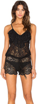 Beach Bunny All About That Lace Romper Cover Up
