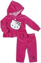 Hello Kitty 2 Piece Jacket Set (Baby) - Fuschia Purple-0-3 Months