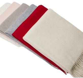 Magaschoni Solid Cashmere Throw