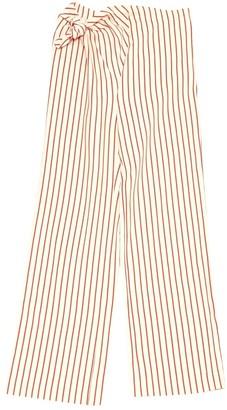 Rosie Assoulin \N Beige Linen Trousers