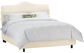 Skyline Furniture Slipcover Bed With Ties, Multiple Sizes