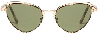 L.G.R Monarch cat-eye frame sunglasses