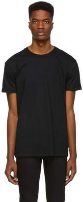 Naked & Famous Denim Denim Denim Black Circular Knit T-Shirt