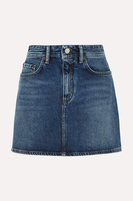 Acne Studios Denim Mini Skirt - Mid denim