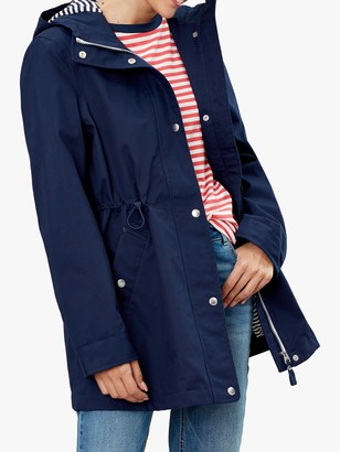 Joules Shoreside Waterproof A-Line Coat