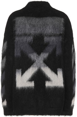 Off-White Off White Mohair and wool blend sweater