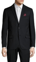 Ben Sherman Solid Notch Lapel Sportcoat