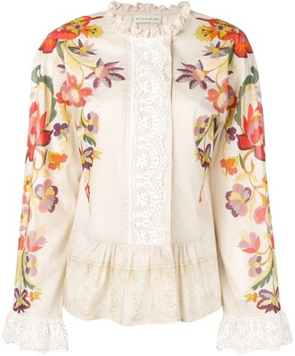 Etro Floral Patterned Blouse