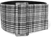 Off-White Prince Of Wales Checked Woven Waist Belt - one size