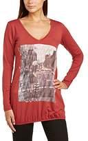 Love2wait Women's Nursing Boat Neck Long Sleeve Maternity T-Shirt,(Manufacturer Size:Medium)