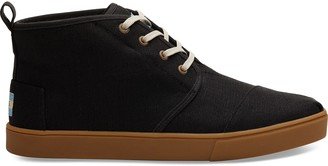 Toms Black Canvas Mens Cupsole Botas Venice Collection