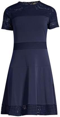 MICHAEL Michael Kors Mesh A-Line Dress