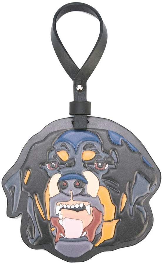 Givenchy rottweiler keyring