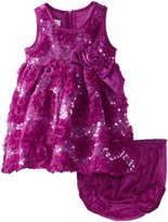 Bonnie Baby Baby-Girls Infant Bonaz and Sequin Dress