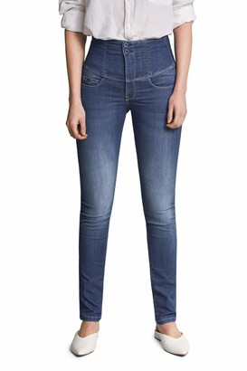 Salsa Diva Slim fit Slimming Jeans Blue