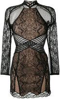Alexander Wang sheer lace dress - women - Silk/Nylon/Polyester/Spandex/Elastane - 4
