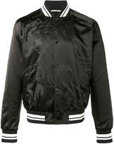 Valentino Black panther bomber jacket