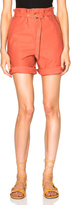 Isabel Marant Neddy Chic Poplin Shorts