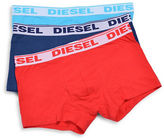 Diesel Shawn Three-Pack Stretch-Cotton Boxers