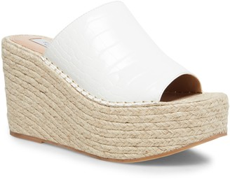 STEVEN NEW YORK Steven by Steve Madden Jog Platform Wedge Slide