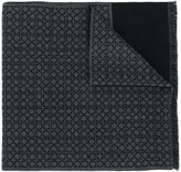 Salvatore Ferragamo branded scarf - men - Wool - One Size
