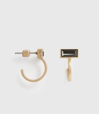 AllSaints Noa Gold-Tone Hoop Earrings