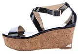 Jimmy Choo Platform Wedge Sandals