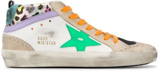 Golden Goose Mid-Star hi-top sneakers