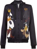 Dolce & Gabbana Dog print hoodie