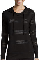 Made For Life Made for Life Long-Sleeve Jacquard Mesh Hoodie