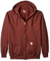 Carhartt Men's Big & Tall Rain Defender Paxton Heavy Weight Hooded Zip Front Sweatshirt