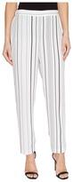 Vince Camuto Pencil Stripe Slim Leg Pull-On Pants