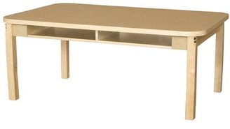 Wood Designs Manufactured Wood Adjustable Height Multi-Student Desk Wood Designs