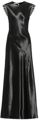 Philosophy di Lorenzo Serafini Satin maxi dress