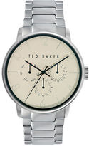 Ted Baker Mens Smart Casual Stainless Steel Chronograph Bracelet Watch