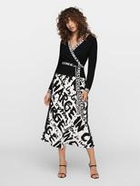 Diane von Furstenberg Kady Knit Wrap Top