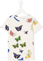 Mini Rodini butterfly printed T-shirt