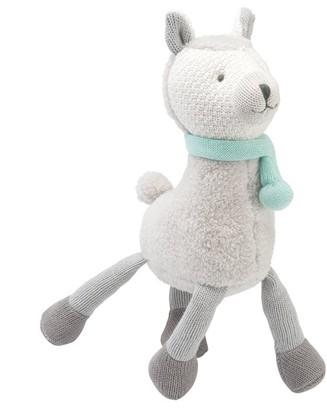 Elegant Baby Plush Animal 100% Knit Cotton Liam the Llama