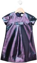 Baby CZ Girls' Metallic Bow Dress w/ Tags