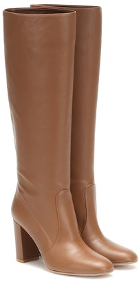 Gianvito Rossi Glen 85 knee-high leather boots