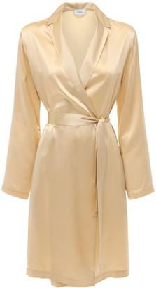 La Perla Short Silk Satin Robe