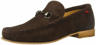 Marc Joseph New York Mens Gold Collection Leather Sole Buckle Loafer