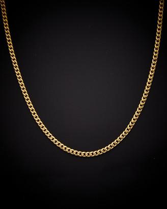 Italian Gold 14K Cuban Link Necklace